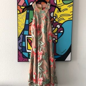 brand new Dress the population floral lace dress